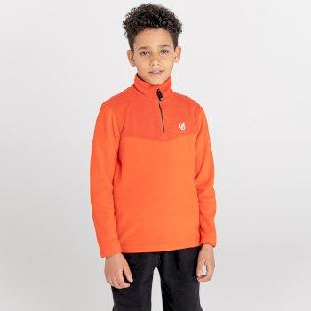Boys' Joyous Half Zip Fleece Amber Glow
