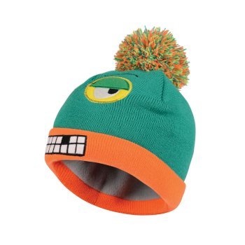 Kids Look Out II Beanie Hat Nordic Green