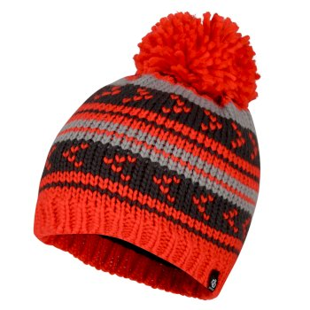 Bonnet pompon Junior Garçon PLUCKY Rouge