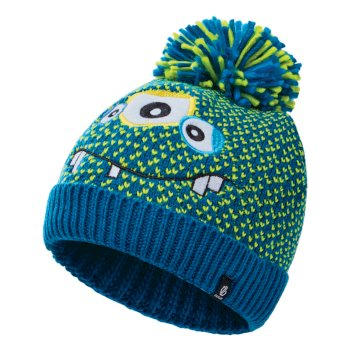 Boys' Brainstorm II Fleece Lined Knit Beanie Methyl Blue Monster