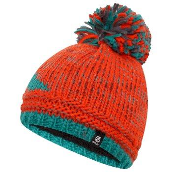 Boys' Imagine Bobble Hat Amber Glow Alpine Forest Green