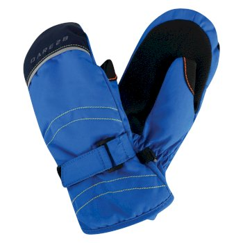 Kids Handover Ski Mitt Gloves Athletic Blue
