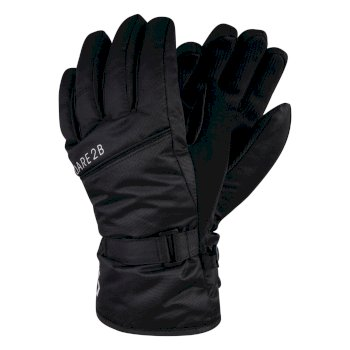 Boys' Mischievous Ski Gloves Black
