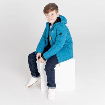 Boys' Folly Waterproof Ski Jacket Dark Methyl Blue