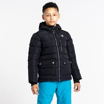 Boys' Folly Waterproof Ski Jacket Black