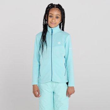 Girls' Inherit Zip Through Fleece Aruba Blue