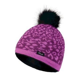 72894889 Kids Splendid Bobble Beanie Hat Ultra Violet Purple