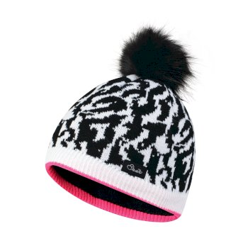 Chapeau Splendid Beanie Black/White