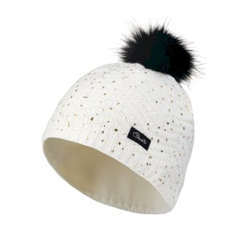 Kids Splendid Bobble Beanie Hat White