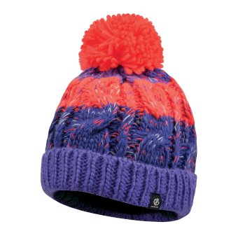 Bonnet pompon Junior Fille LIVELY Violet