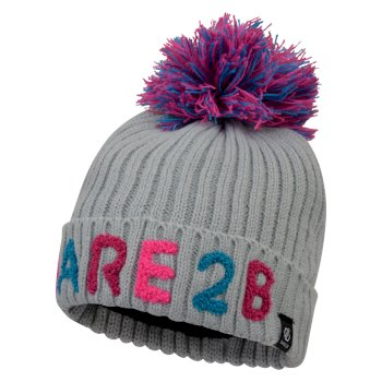 Girls' Indication Dare2b Bobble Hat Argent Grey