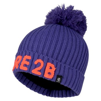 Girls' Indication Dare2b Bobble Hat Simply Purple