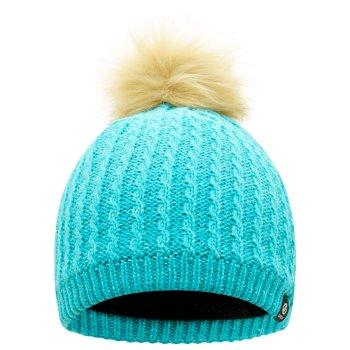 Girls' Creative Knit Beanie Azure Blue