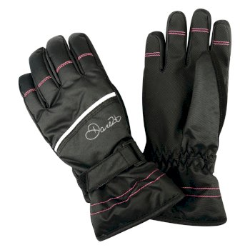 Kids Hand Pick II Ski Gloves Black