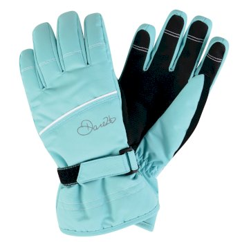 Kids Hand Pick II Ski Gloves Bahama Blue