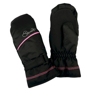 Kids Waver Mitt Ski Gloves Black