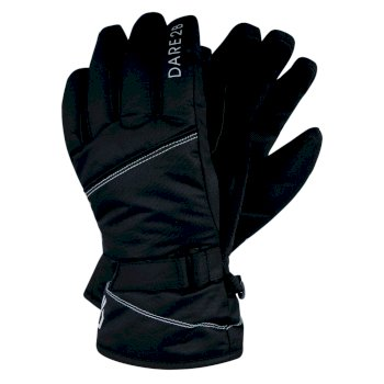 Girls' Impish Ski Gloves Black