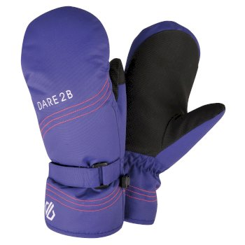 Girls' Stormy Waterproof Insulated Ski Mitts Spectrum Blue