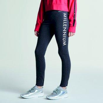 Kids Actuate Fitness Leggings Charcoal Grey