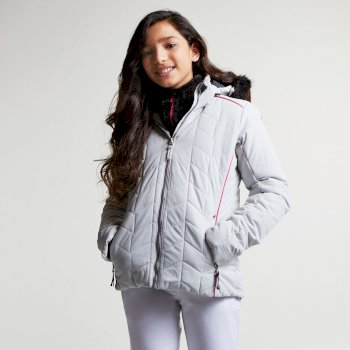 Kids Prodigal Luxe Ski Jacket Cyberspace Grey