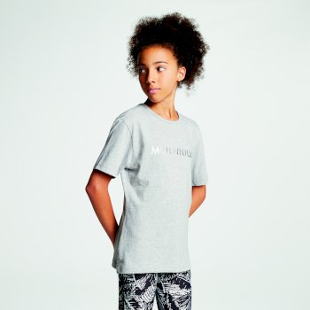 Kids' Dynasti Open Back T-Shirt Ash