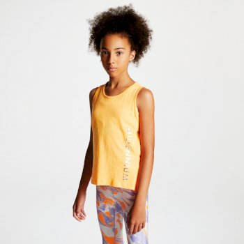 Kids' Sunrise Keyhole Back Vest Orange Burst