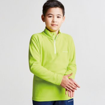 Kids Freeze Jam II Half Zip Fleece Electric Lime