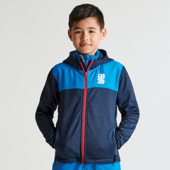 Kids Recast Fleece Hoodie Admiral Blue