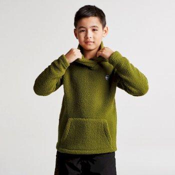 Kids Recast Fleece Hoodie Mantis Green