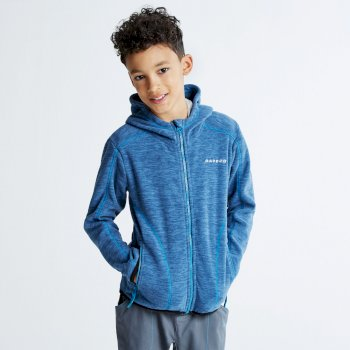Kids Entreat II Hooded Fleece Admiral Blue