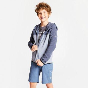 Kids' Ebullient Lightweight Hooded Fleece Meteor Grey