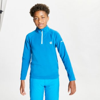 Kids' Freehand Half Zip Lightweight Fleece Petrol Blue