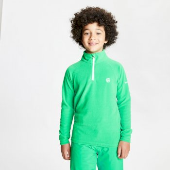 Kids' Freehand Half Zip Lightweight Fleece Vivid Green