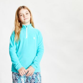 Kids' Freehand Half Zip Lightweight Fleece Ceramic Blue