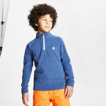 Kids' Freehand Half Zip Lightweight Fleece Dark Denim