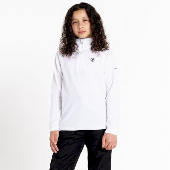 Kids' Freehand Half Zip Lightweight Fleece White