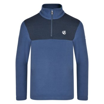 Kids' Mountfuse Half Zip Fleece Admiral Blue