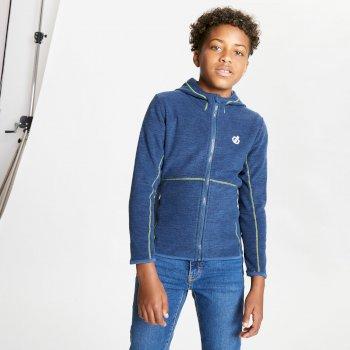 Kids' Genesis Full Zip Hooded Fleece Dark Denim