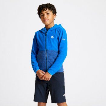 Kids' Genesis Full Zip Hooded Fleece Athletic Outerspace Blue