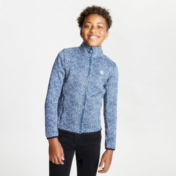Kids' Inexor Full Zip Fleece Dark Denim