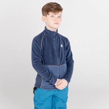 Kids' Witty Zip Through Fleece  Dark Denim Nightfall Navy