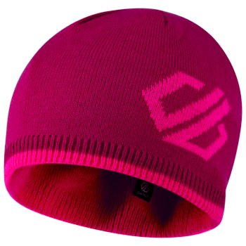 Kids' Frequent Beanie Hat Fuchsia Cyber Pink
