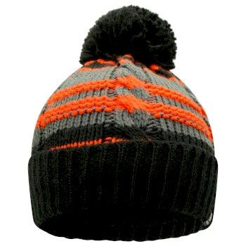 Kids' Mindless Bobble Hat Black Amber Glow