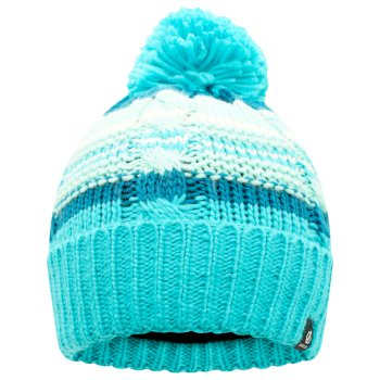Kids' Mindless Bobble Hat Azure Blue