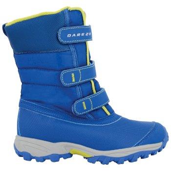 Kids Skiway Ski Boots OxfBl/NeonSp