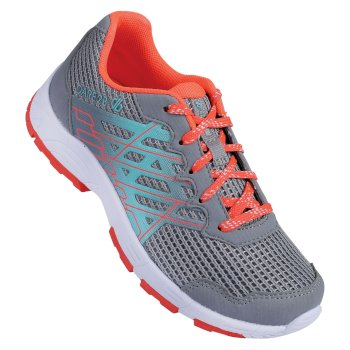 Chaussures De Sport Junior JUNIOR RAZOR  Gravity Grey Fiery Coral
