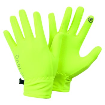 Kids' Chimerical Lightweight Gloves Fluro Yellow