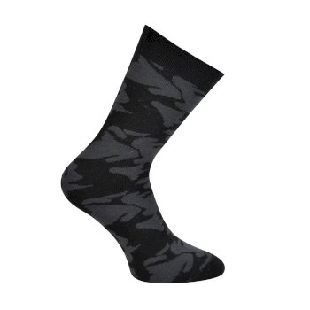 Kids' Vigor Ski Socks Ebony