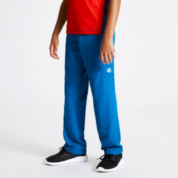Kids' Reprise Lightweight Walking Trousers Petrol Blue