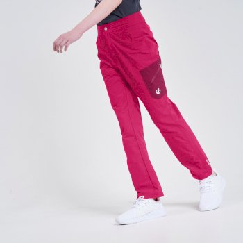 Kids' Reprise Lightweight Walking Trousers Duchess Pink Berry Pink
